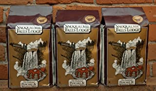 Snoqualmie Falls Lodge Old Fashioned PANCAKE & WAFFLE Mix 5lb. (3 Bags)
