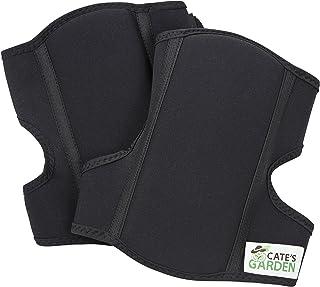 Cate's Garden Knee Pads – Soft Comfort Gardening Kneepads for The Home Gardener – Gel Cushion, Neoprene, Water-Resistant Construction for Men and Women