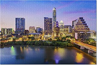 Austin, Texas - Skyline - Photography A-92081 (20x30 Premium 1000 Piece Jigsaw Puzzle, Made in USA!)
