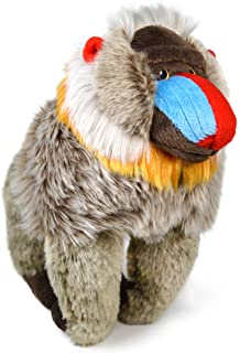 VIAHART Mambo The Mandrill | 10.5 Inch Stuffed Animal Plush Baboon | by Tiger Tale Toys