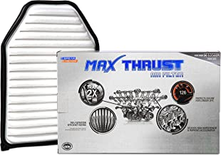Spearhead MAX THRUST Performance Engine Air Filter For Low & High Mileage Vehicles - Increases Power & Improves Acceleration (MT-348)
