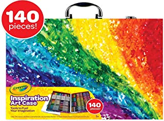 Crayola Inspiration Art Case Coloring Set, Kids Indoor Activities At Home, 140 Art Supplies