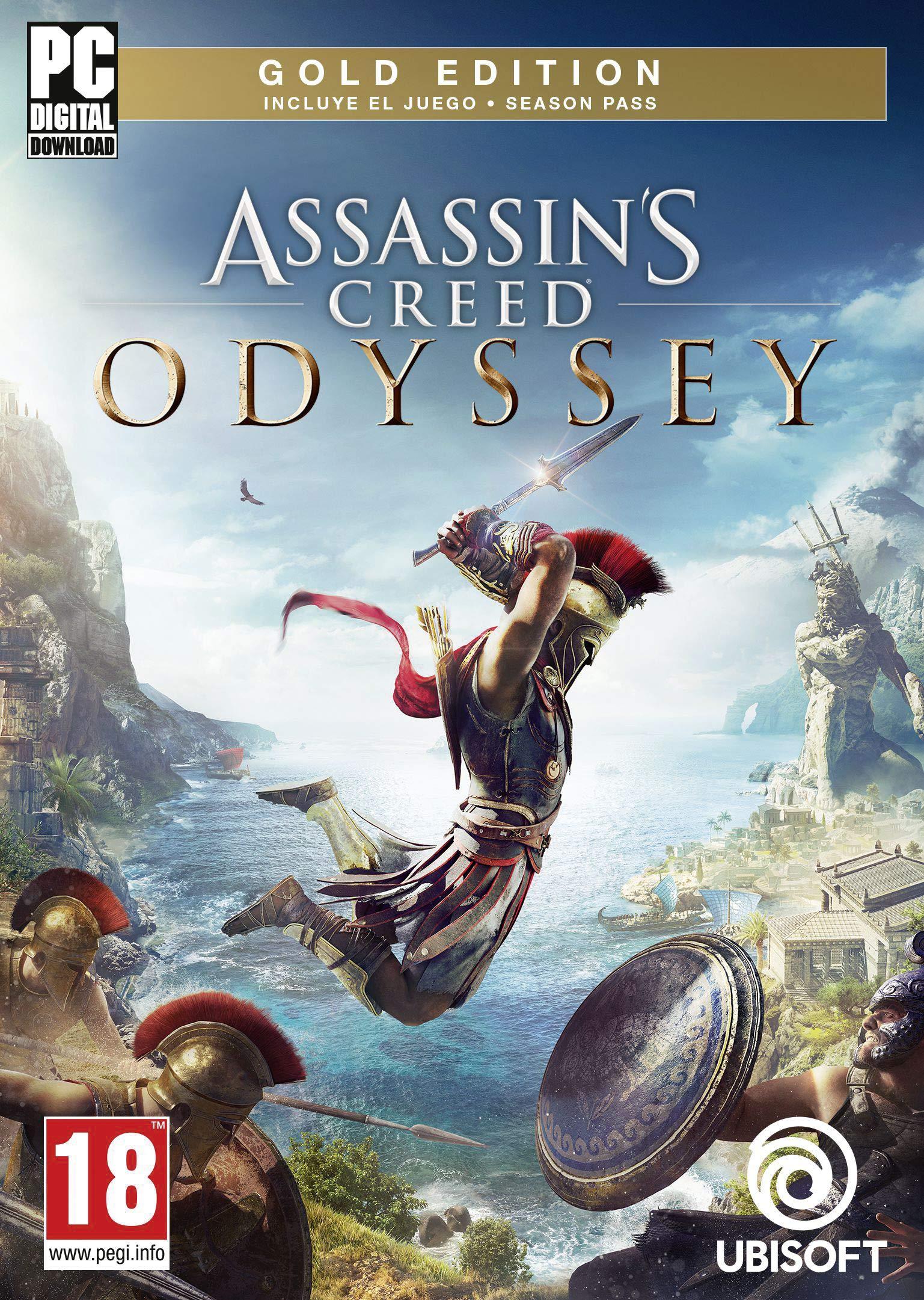 Assassins Creed Odyssey - Gold Edition | Código Uplay para PC: Amazon.es: Videojuegos