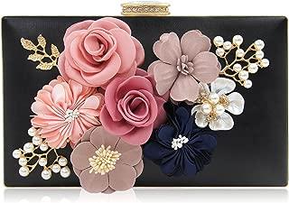 Best black flower clutch bag Reviews