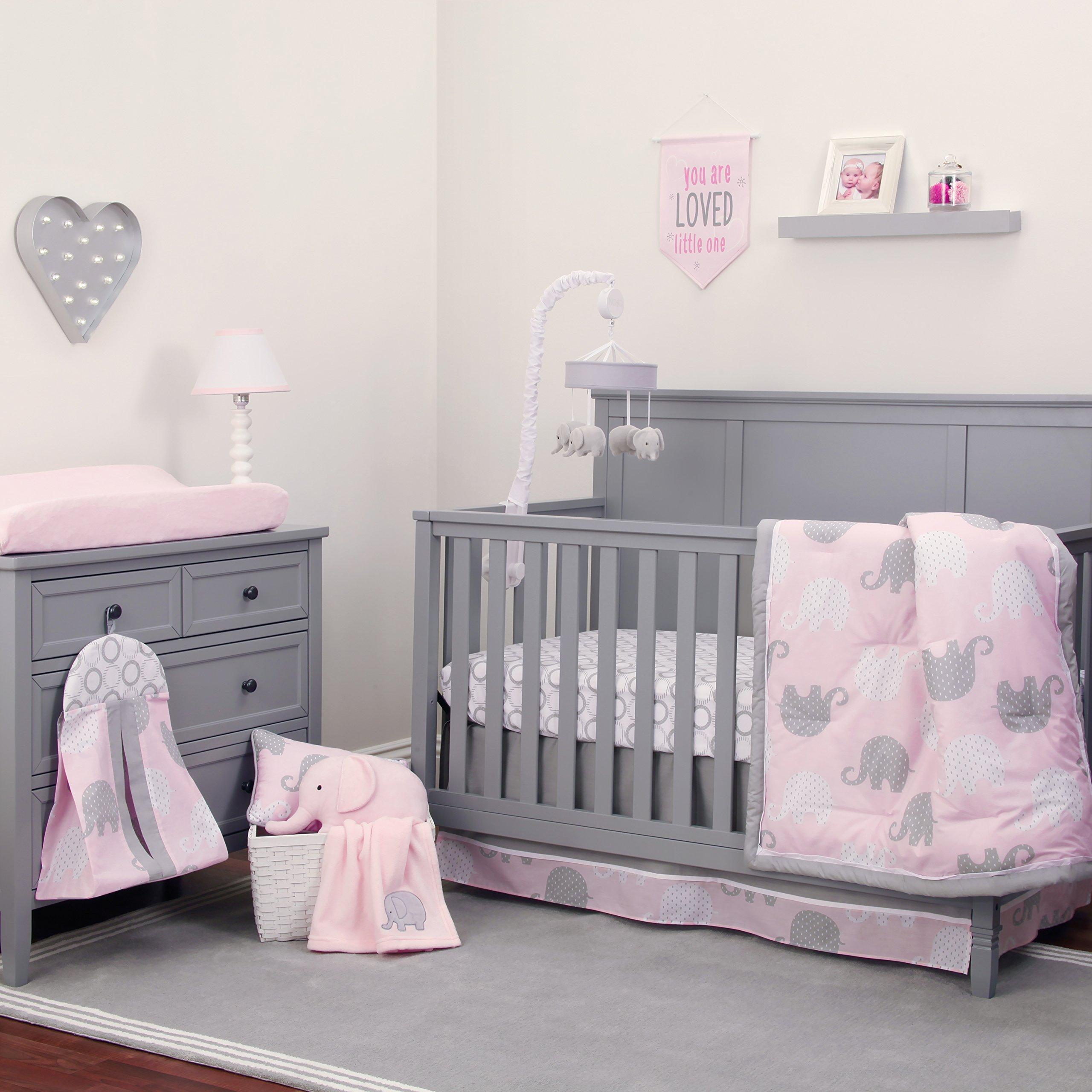 grey pink and white baby room amazon com rh amazon com grey baby room curtains grey baby room ideas