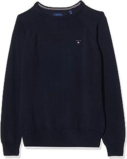 GANT Casual Cotton Crew suéter para Niños
