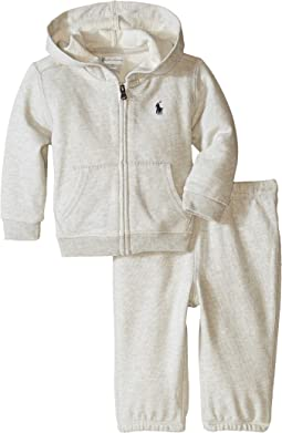 Ralph Lauren Baby Fischale Terry Fleece Set (Infant)