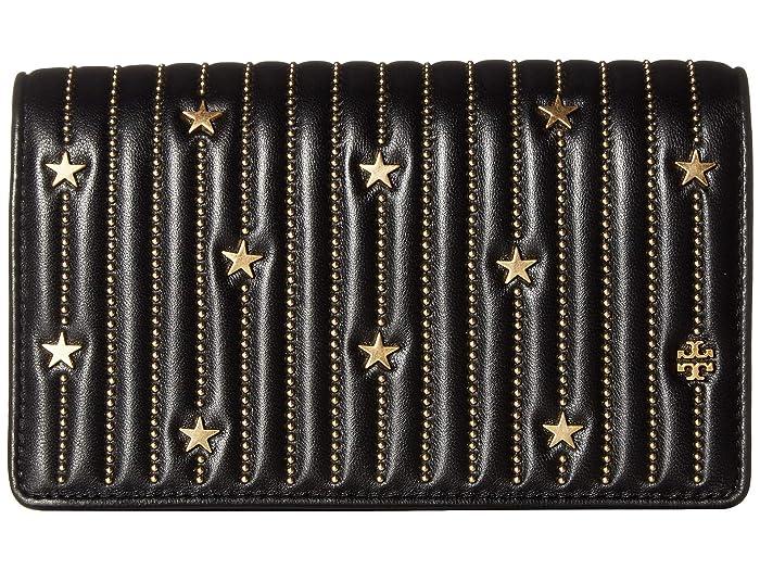 a3d21f621b5 Tory Burch Star Stud Flat Wallet Crossbody at Zappos.com