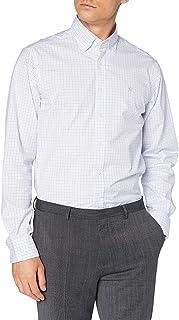 Hackett London White Based Chk Camisa para Hombre