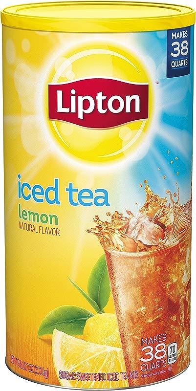 Lipton Iced Tea Mix Lemon 38 Qt