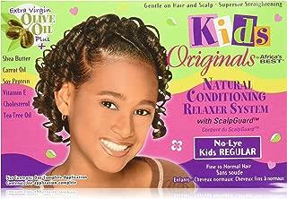 Africa'S Best Kids Organics Organic Conditioning Relaxer System With Scalpguard - No Lye Regular