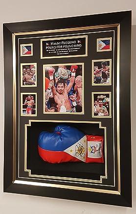 Boxhandschuh, signiert von Manny Pacquiao, AFTAL AFTAL AFTAL DEALER PSA und DNA-Zertifikat B00WGA3C3E     | Heißer Verkauf  c9ed8c