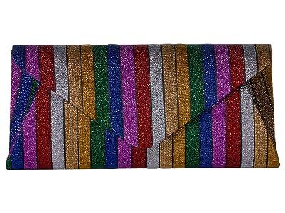Nina Isobel (Rainbow) Clutch Handbags