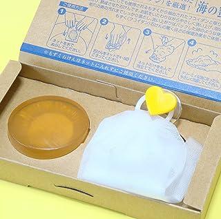 もずく石けん海の蜜90g×1個入り(泡立てネット付き)