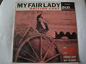 My Fair Lady British Cast Vinyl Lp Avon Records Mono