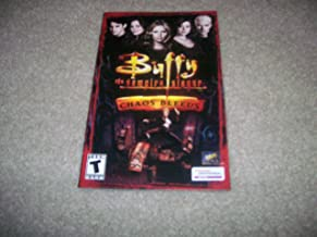 Buffy the Vampire Slayer Chaos Bleeds Instruction booklet for Playstation 2