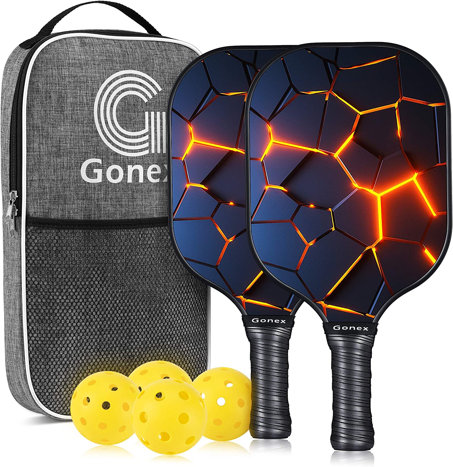 Gonex Pickleball Gifts Paddles Set Graphite of Pickle Max 73% OFF 2