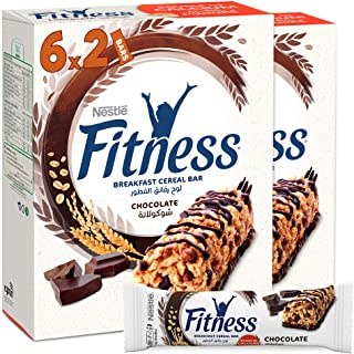 Nestle Fitness Chocolate Breakfast Cereal Bar 23.5g (12 Bars)