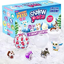 Be Amazing! Toys Snow Pets – Series 1 A Snowy Adventure – Surprise Fun Play Snow Pals for Kids Children – 3 Collectible An...