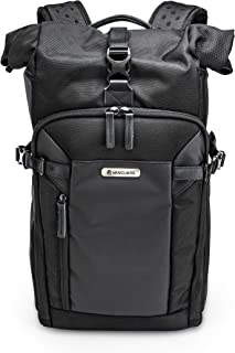 Veo Select 43RB BK - Mochila extendible para fotografia profesional, color Negro