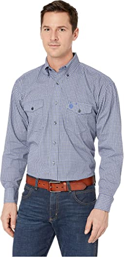 George Strait Two-Pocket Button Print