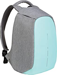 XD Design Bobby Compact Anti-Theft Laptop USB Backpack Mint Green (Unisex Bag)