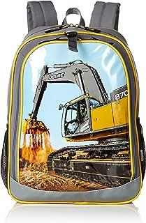 John Deere Backpack, Grey (Gray) - JFL737HC