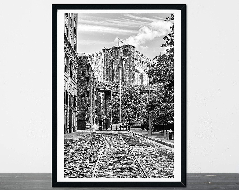 Brooklyn Bridge Print NY New Photography York City 2021new shipping free Cobb Large discharge sale