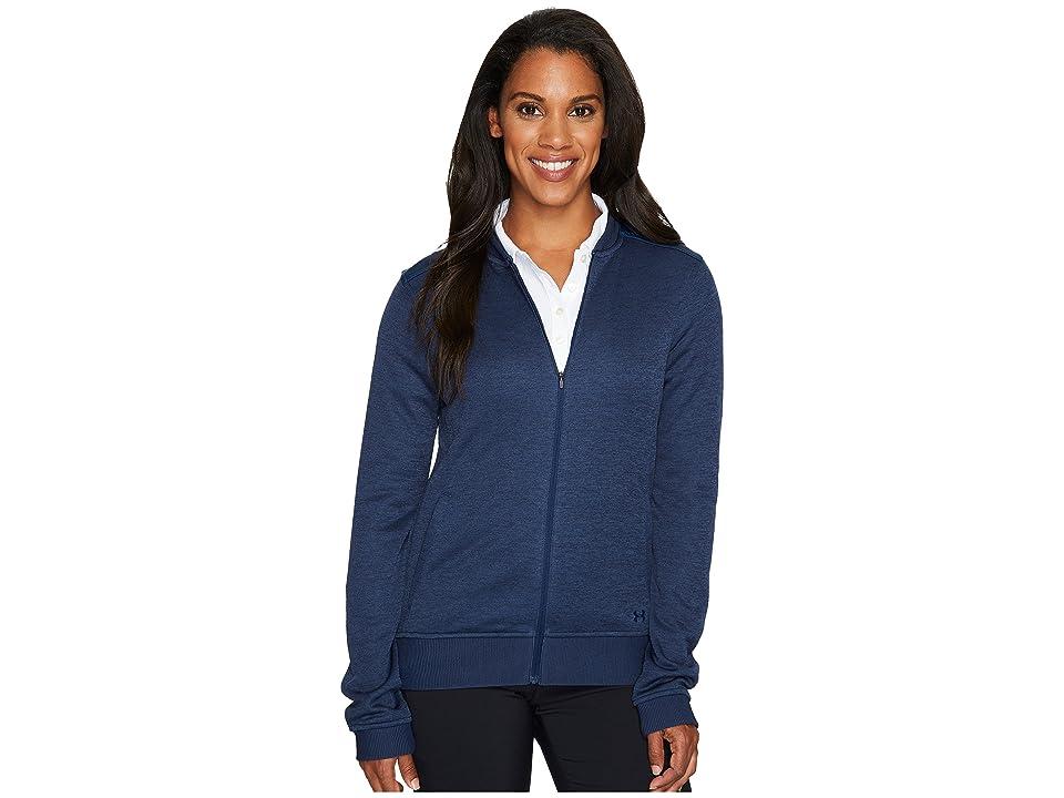 Under Armour Golf UA Storm Sweater Fleece Jacket (Academy/Academy/Academy) Women