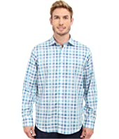 BUGATCHI - Amalfi Classic Fit Long Sleeve Woven Shirt