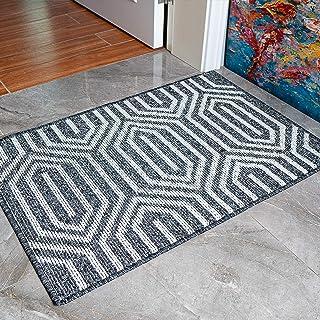 """Sponsored Ad - Indoor Doormat Rubber Door Mat, 20""""x 32"""", Heavy Duty Doormat, Waterproof, Easy Clean, Machine Washable, Low..."""