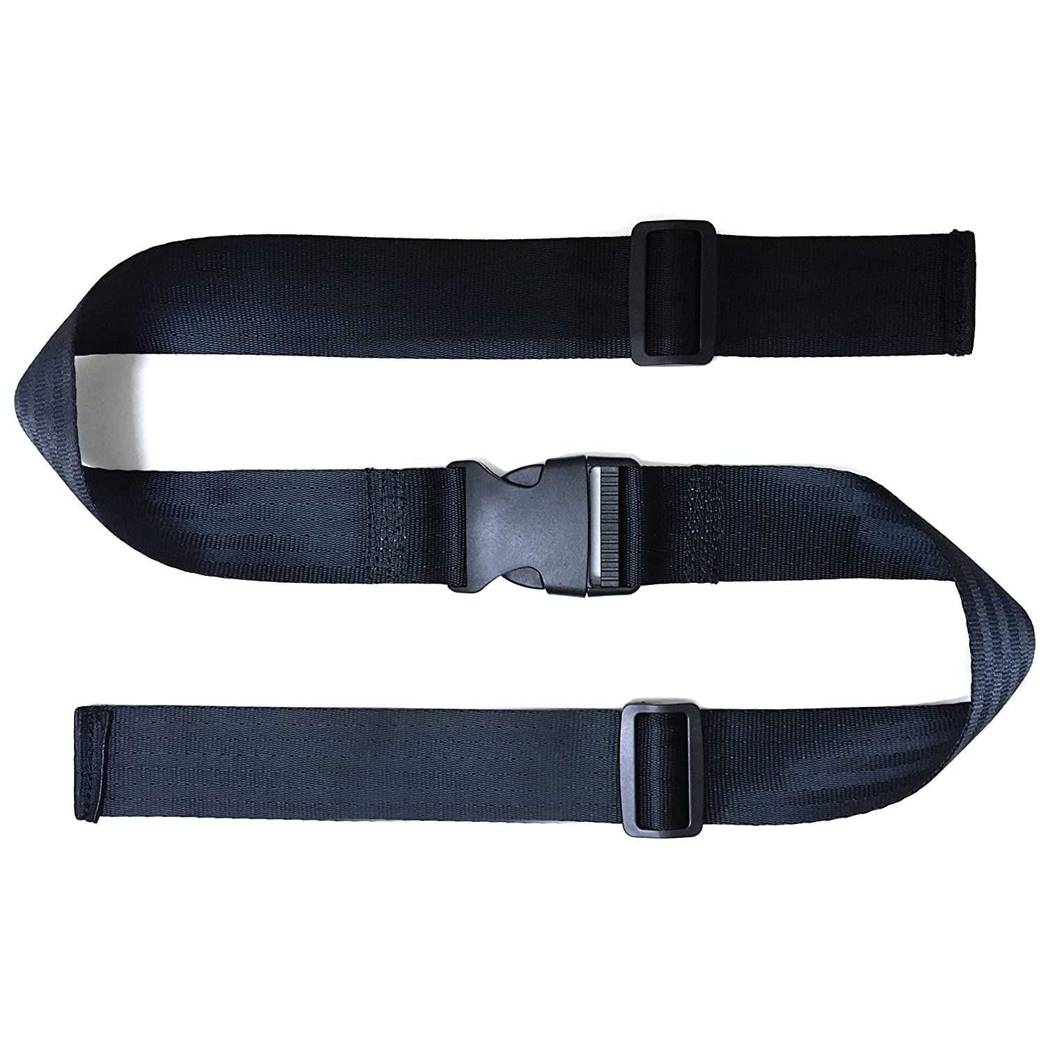 ZARPMA Baby 2 Point Safety Belt,Safety Harness for Child Kid Infant Safe Strap for Pushchair,HighChair,Child Chair,Stroller(1.4 M Length)