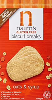 Nairn's Gluten Free Biscuit Breaks Oats & Syrup - 160gm