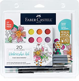 Faber-Castell Creative Studio Watercolor Art for Beginners -