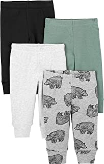 Baby Boys' 4-Pack Cotton Pants