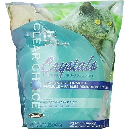 Amazon Com Clear Choice Silica Crystals Cat Litter Bag 8 Pound Pet Supplies
