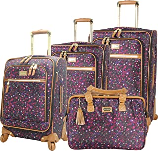 Luggage Honey 4 Piece Spinner Collection (Purple)