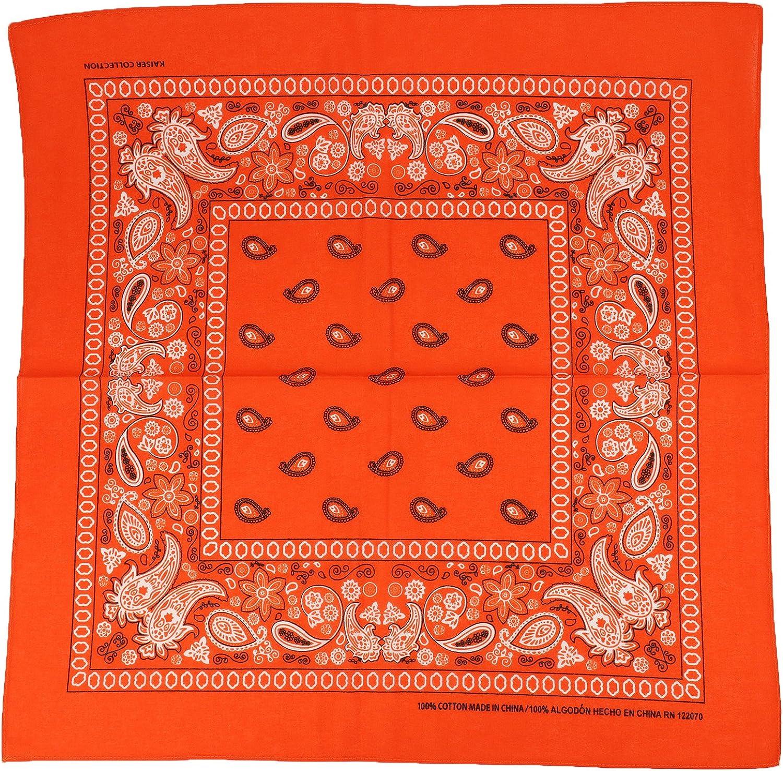 Armycrew 12pc Paisley Printed 100% Headwrap Face Lowest price challenge favorite Bandanas Cotton