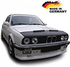 Hood Bra for BMW E30 Bonnet Car Bra Front End Cover Nose Mask Stoneguard Protector TUNING