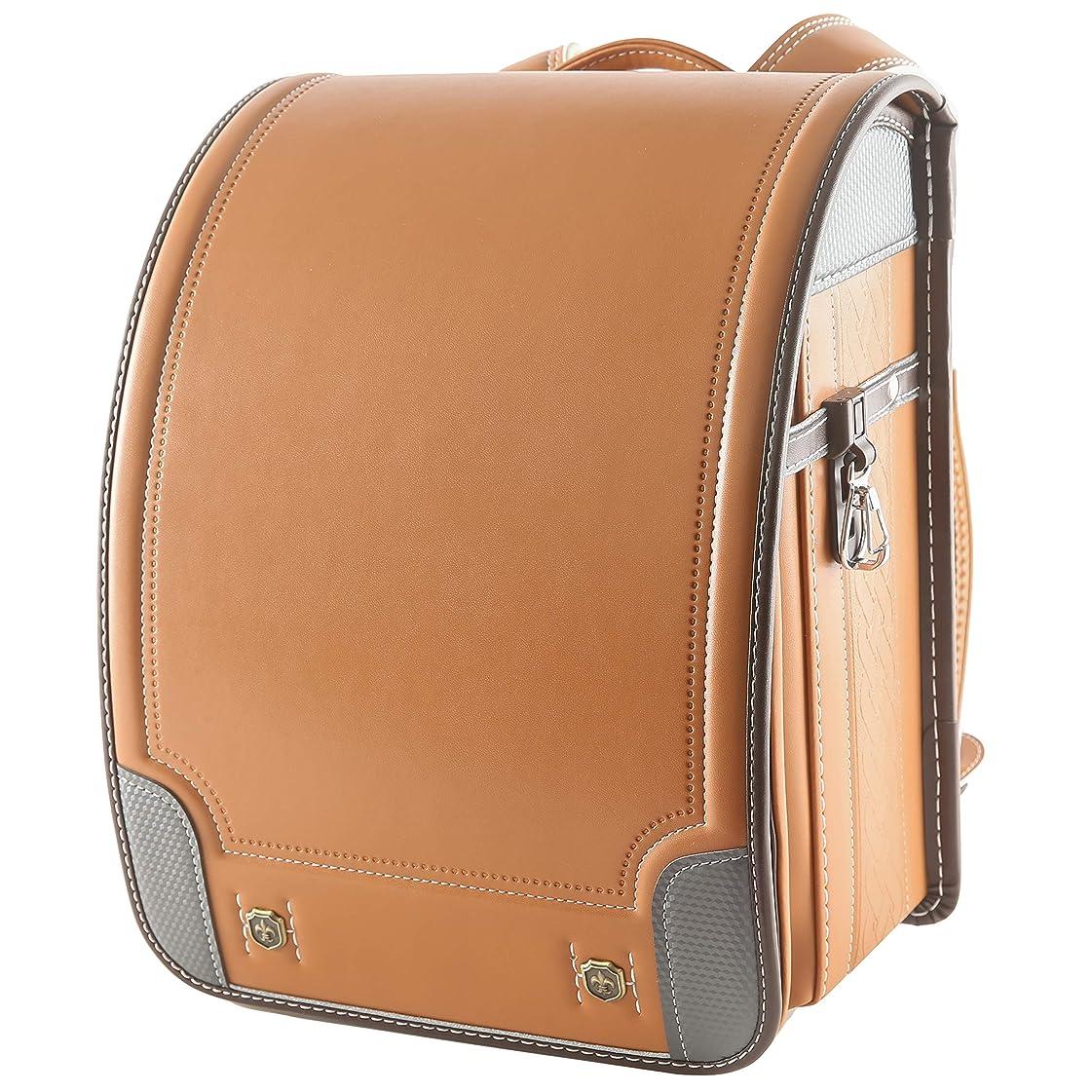 Ashmore ランドセル 小学生 型落ち オートロック 2019年度 6年間質量保証 通学鞄 かばん 男の子 高級人工皮革 A4フラットファイル対応 大容量 超軽量