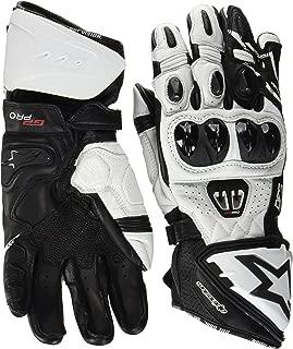 Alpinestars Men's GP Pro R2 Leather Glove (Black/White, Small)