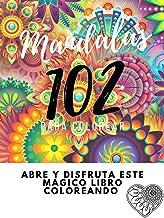 Mandalas para colorear adultos: diseños de animales para aliviar el estrés, plantas y figuras geometricas (1)