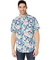 Guana Floral Short Sleeve Classic Murray Shirt