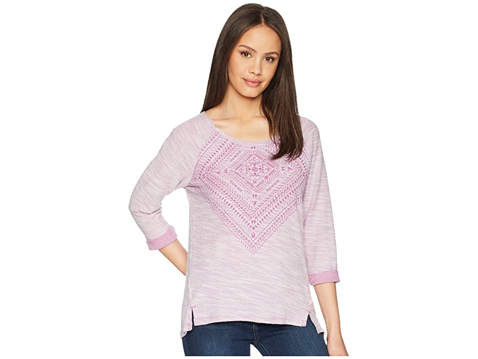 Columbia Coastal Escape Printed Shirt (Intense Violet) Women