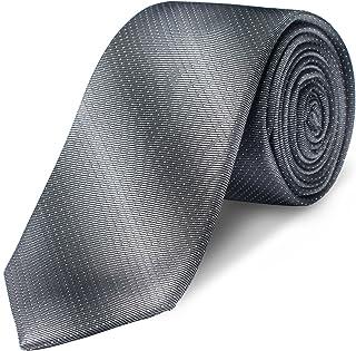 Origin Ties Tow Tone Necktie Classic College Striped Twilling Silk Tie