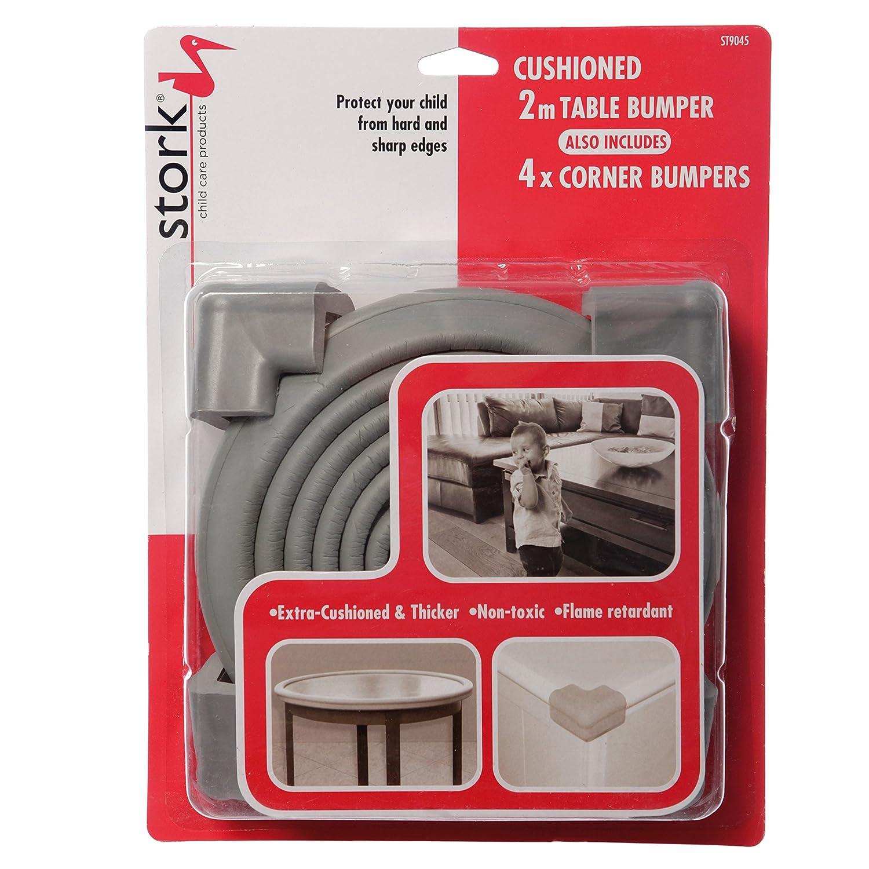 Stork Foam Edge Bumper Roll w/ 4 Corner Cushions
