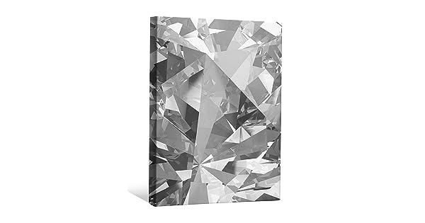 JP London BWMCNV2485 2 Thick Heavyweight Black /& White Gallery Wrap Canvas Diamond Texture Mine Bling Gangsta Compton Wallpaper 24 x 36