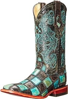 Ferrini Women's Patchwork BT Western Boot
