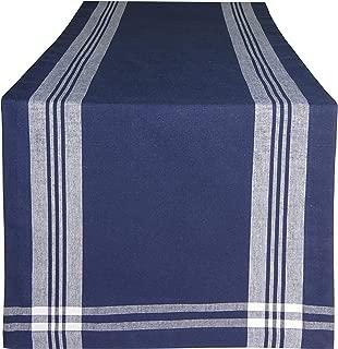 CottonLin French Stripe bdr D01 Table Runner Hemmed -16