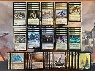 Elite Snow Deck - Blue Green - Modern Legal - Custom Built - Magic The Gathering - MTG - 60 Card - Full Art Lands!